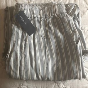 Brand new stripped pants (crop)